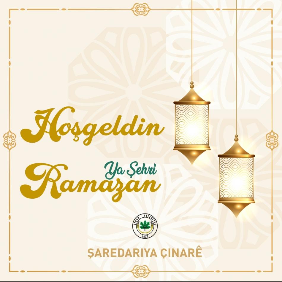 Hoş Geldin Mübarek Ramazan