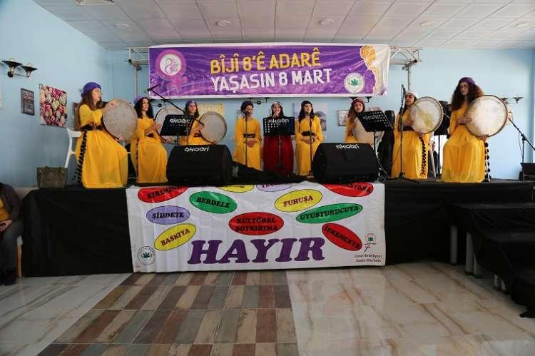 Kadınlar Çınar'da 8 Mart Şenliğinde Buluştu
