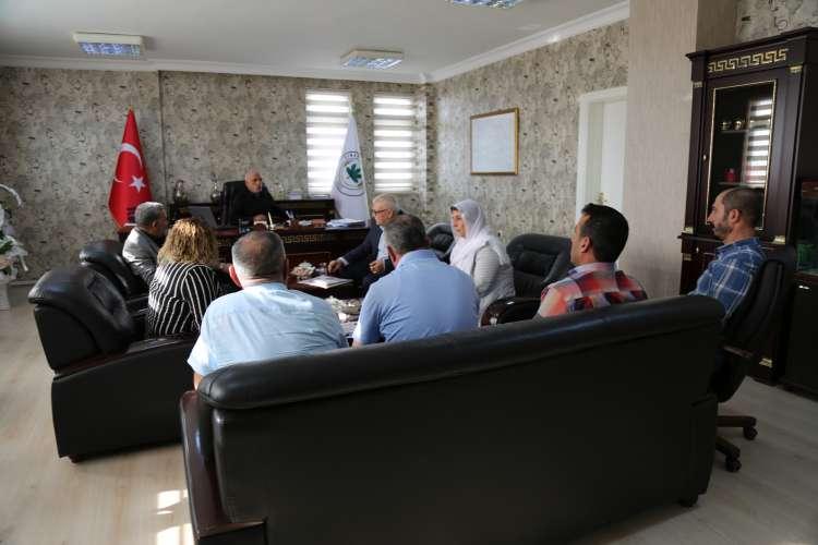 Dicle Belediye Eşbaşkanı Belediyemizi Ziyaret Etti