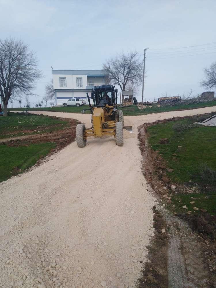 Köylerde Yol Çalışmaları Başlatıldı