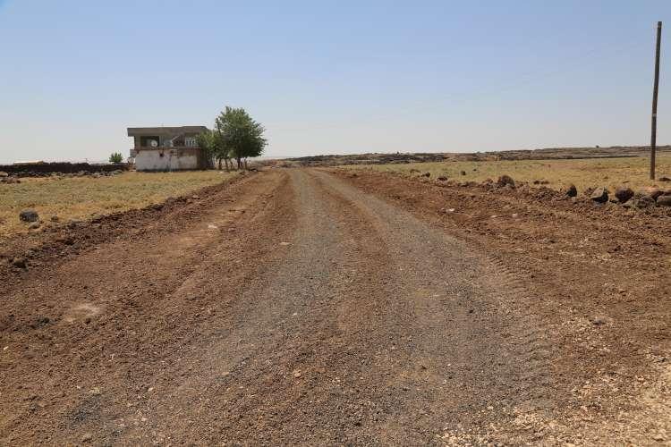 Karaçevre'de Yol Çalışmaları Sona Erdi