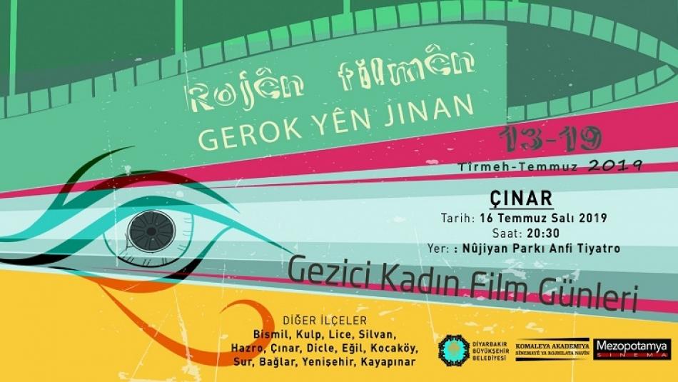 Çınarlılar Gezici Kadın Film Festivalinde Buluşacak