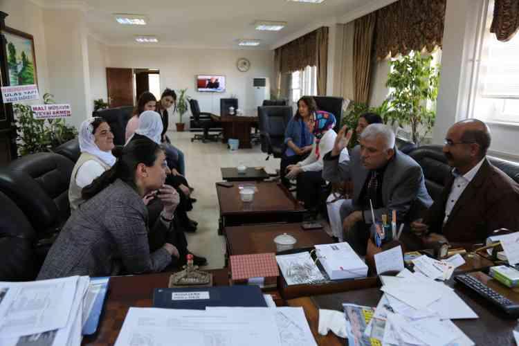 Çınar Belediyesi Başkanlığına Ziyaretler Devam Ediyor