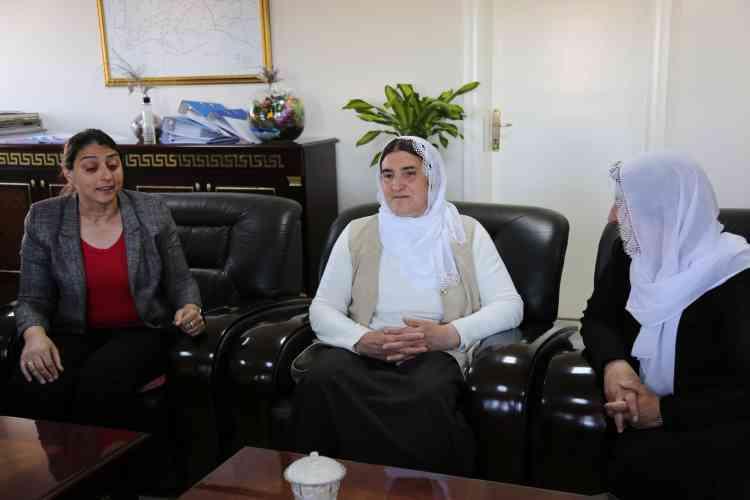 Çınar Belediyesi Eşbaşkanları'na Ziyaretler Devam Ediyor