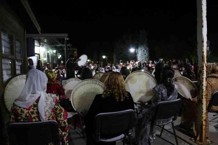Jinwar Kadın Merkezi'nde Erbane Konseri Verildi