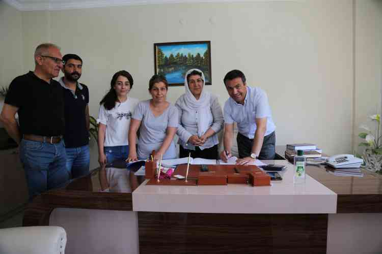 Çınar'da Toplu İş Sözleşmesi İmzalandı