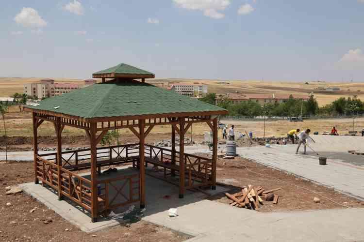 Fatih Mahallesi Parkı'nda Çalışmalar Devam Ediyor