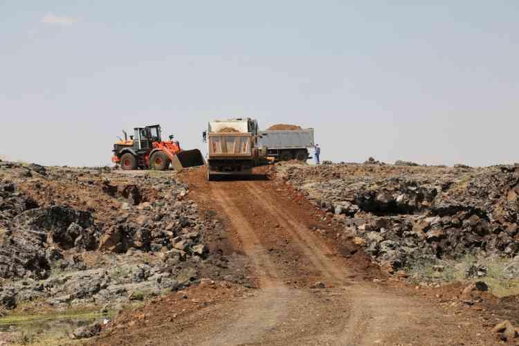 Çınar Belediyesi Yol Çalışmalarına Devam Ediyor