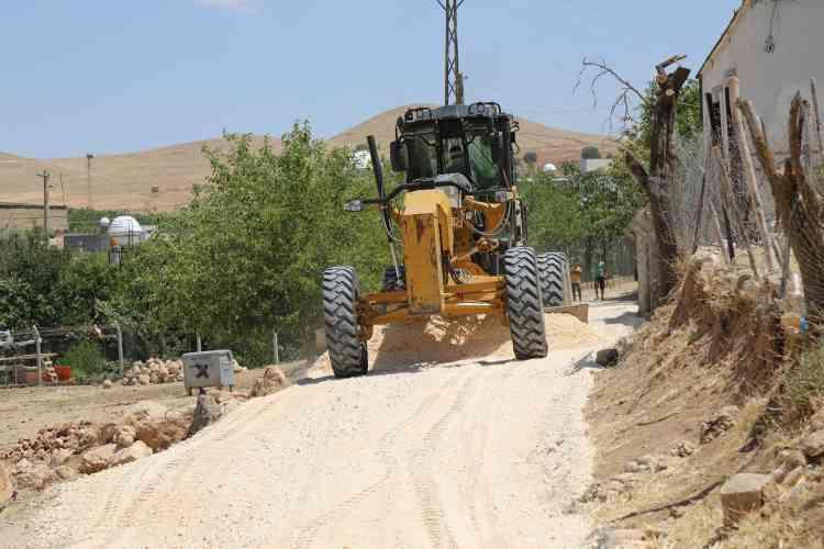 Çınar Belediyesi 51 bin 550 metre Yol Çalışması Yaptı