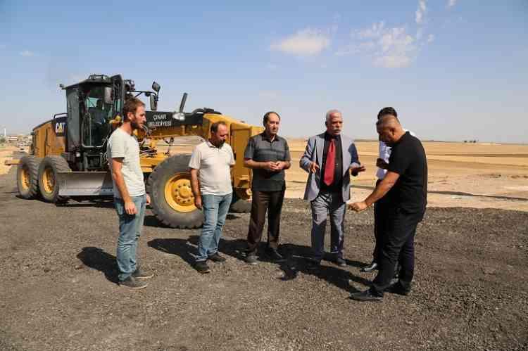 Ataşehir Tepe City Konutları'nda Asfalt Çalışması Yapıldı