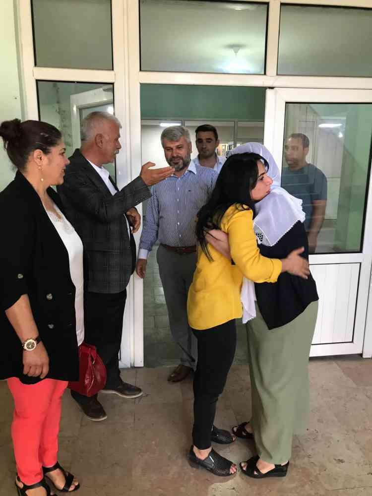 Çınar Belediyesi Eşbaşkanları Ergani Belediyesi'ni Ziyaret Etti