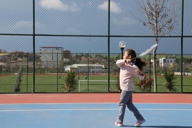 Havalar Düzeldi Çınar'da Tenis'e Devam