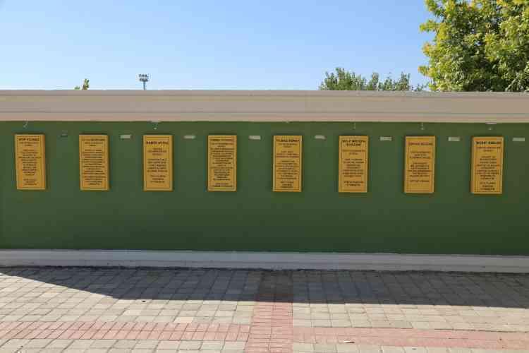 Nujîyan Parkında Bulunan Kitabelerin Restorasyon Çalışmaları Başladı