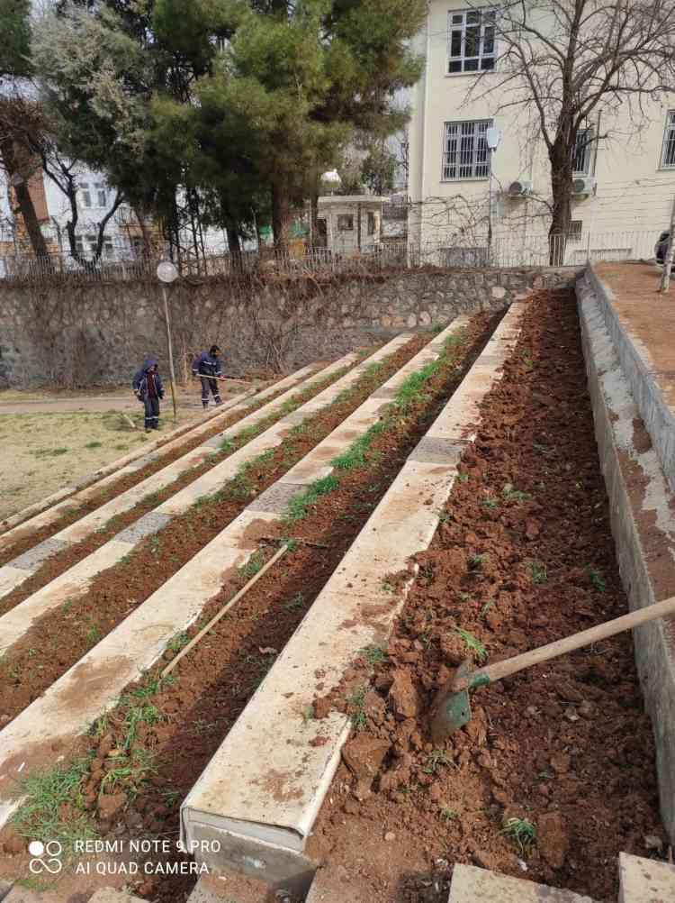 Nujiyan Parkı'nda Bakım Çalışmaları Yapıldı